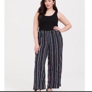 Torrid Jumpsuit Stripped Size 4S